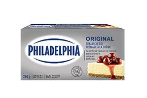 PHILADELPHIA Fromage à la crème en brique Original