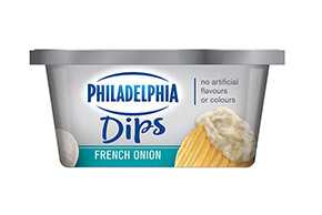 KRAFT PHILADELPHIA FRENCH ONION 227 gr.