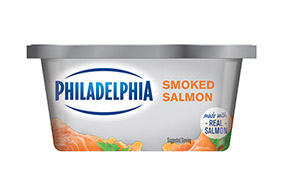 PHILADELPHIA CREAM CHEESE-SOFT SMOKED SALMON - 227 gr.