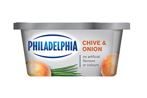 PHILADELPHIA CREAM CHEESE-SOFT CHIVE AND ONION - 227 gr.