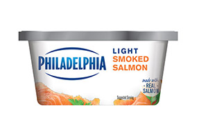 PHILADELPHIA CREAM CHEESE-SOFT LIGHT SMOKED SALMON - 227 gr.