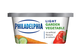 PHILADELPHIA CREAM CHEESE-SOFT LIGHT GARDEN VEGETABLE - 227 gr.