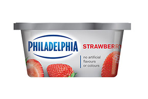 PHILADELPHIA CREAM CHEESE-SOFT STRAWBERRY - 227 gr.