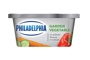 PHILADELPHIA CREAM CHEESE-SOFT GARDEN VEGETABLE - 227gr