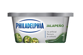 PHILADELPHIA CREAM CHEESE-SOFT JALAPENO - 227 gr.