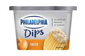 KRAFT PHILADELPHIA ONION 340 gr.