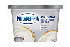 PHILADELPHIA CREAM CHEESE-SOFT ORIGINAL - 340 gr.