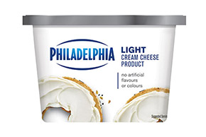 PHILADELPHIA CREAM CHEESE-SOFT LIGHT - 340 gr.