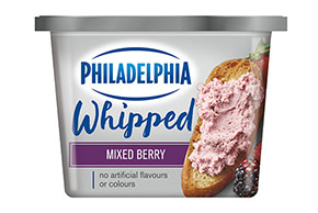 PHILADELPHIA CREAM CHEESE-WHIPPED MIXED