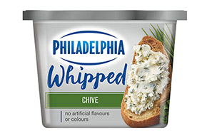 PHILADELPHIA CREAM CHEESE-WHIPPED CHIVES