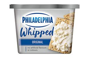 PHILADELPHIA Produit de fromage à la crème Fouetté Original 227 g.