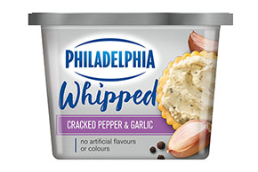 Philadelphia Whipped BOLD Cracked Pepper & Garlic