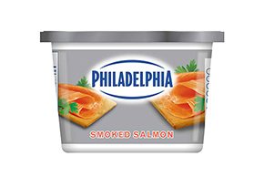 PHILADELPHIA SOFT SMOKED SALMON 340 gr.