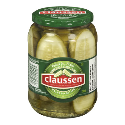 CLAUSSEN Canadian Kosher Dill Halves