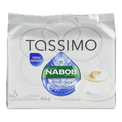 TASSIMO NABOB Cappuccino déca
