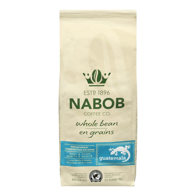 NABOB Whole Bean Guatemala Medium Roast