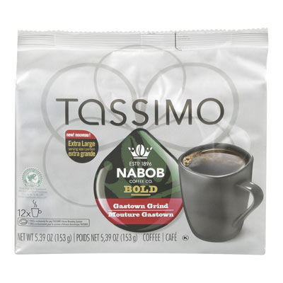 TASSIMO NABOB Mouture Gastown