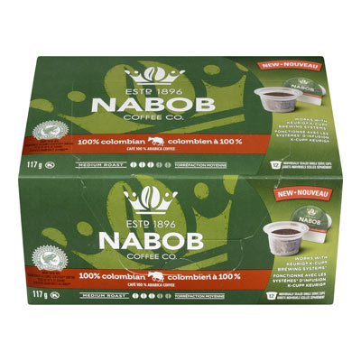 NABOB Pods 100% Colombian