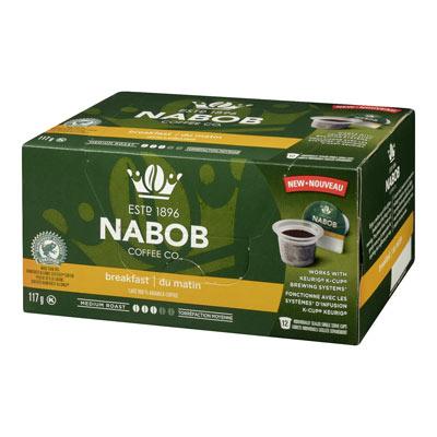 NABOB Pods Breakfast Blend
