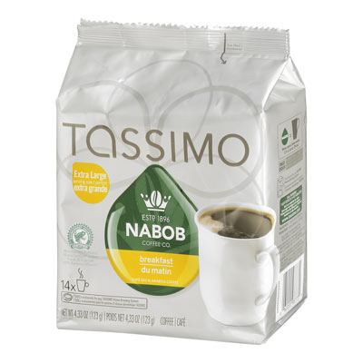 TASSIMO NABOB Breakfast Blend