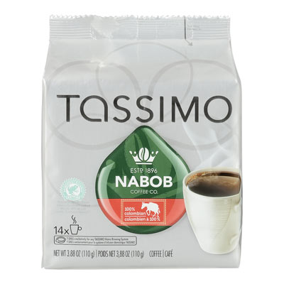 TASSIMO NABOB 100 % Colombien