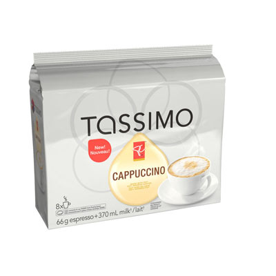 TASSIMO PRESIDENTS CHOICE CAPPUCCINO