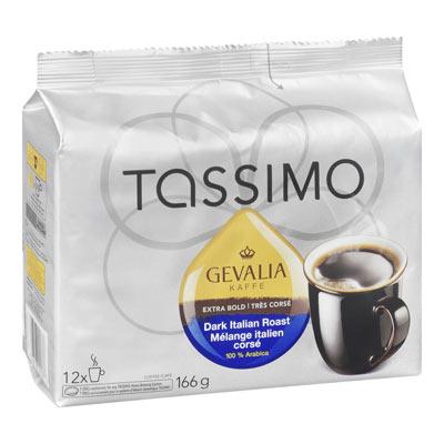 TASSIMO Gevalia Mélange italien corsé