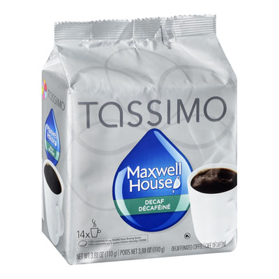 TASSIMO Maxwell House Décaféiné