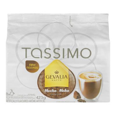 TASSIMO GEVALIA MOCHA COFFEE