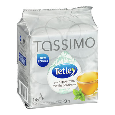 TASSIMO TETLEY Peppermint Tea