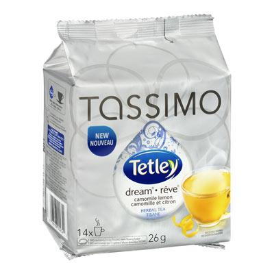 TETLEY TASSIMO Tisane Camomille