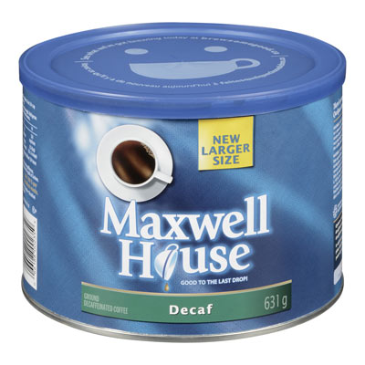 MAXWELL HOUSE Torréfaction originale Décaféiné