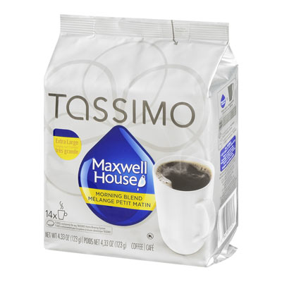TASSIMO MAXWELL HOUSE Morning Blend