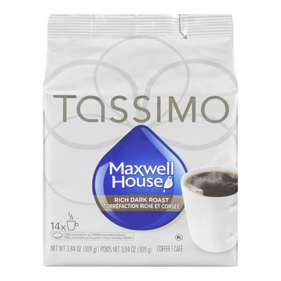 TASSIMO MAXWELL HOUSE Dark Roast
