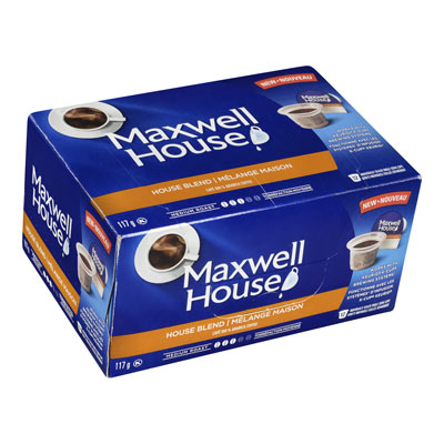 MAXWELL HOUSE Pods House Blend