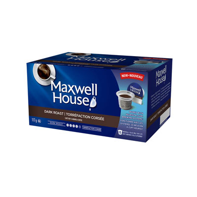 MAXWELL HOUSE Pods Dark Roast