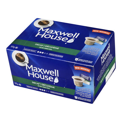MAXWELL HOUSE Pods Decaf