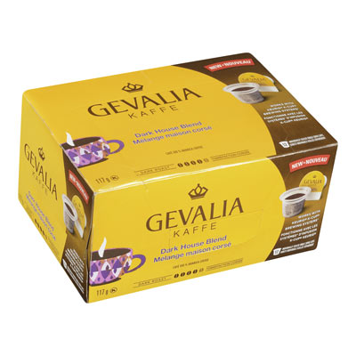 GEVALIA Pods Dark House Blend
