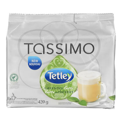 TASSIMO TETLEY T DISC GREEN TEA LATTE