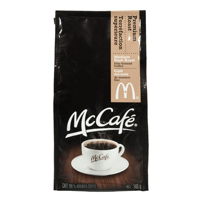 MC CAFE 340 GR COFFEE-GROUND  PREMIUM ROAST     1  EACH