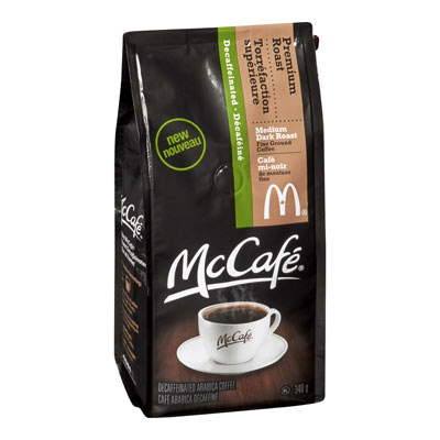 MC CAFE 340 GR COFFEE-GROUND DECAFFEINATED PREMIUM ROAST     1  EACH