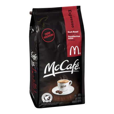MC CAFE 300 GR COFFEE-GROUND  ESPRESSO WHOLE BEAN     1  EACH