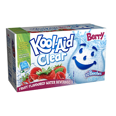 Kool-Aid Clair Baies 10x180ml