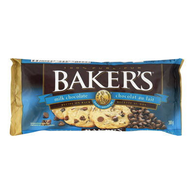BAKERS Milk Chocolate Chips