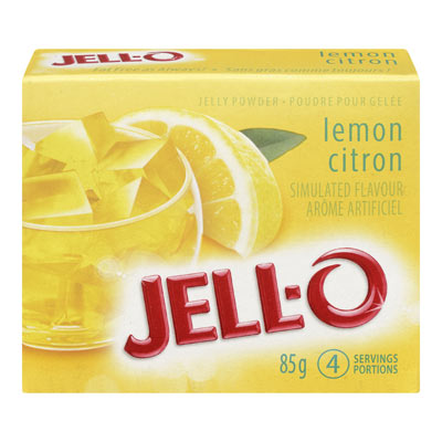 JELL-O Jelly Powder LEMON