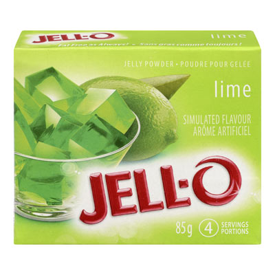 JELL-O Jelly Powder LIME