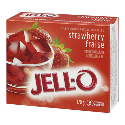 JELL-O Jelly Powder STRAWBERRY