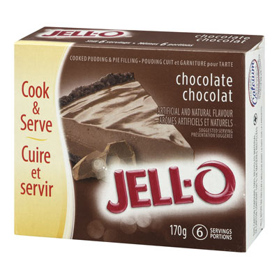 JELL-O Chocolate Cooked Pudding & Pie Filling