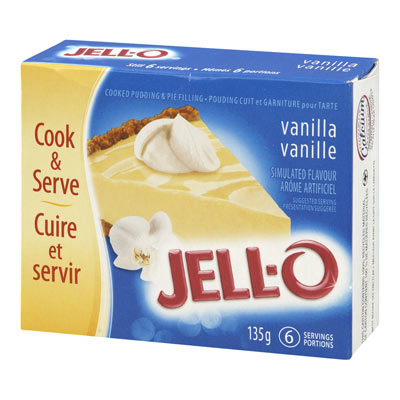 JELL-O Vanilla Cooked Pudding & Pie Filling