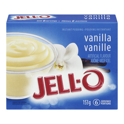 JELL-O Pouding instantané VANILLE